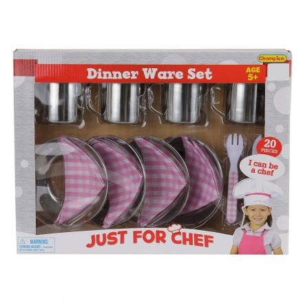 Champion 20-piece Dinner Ware Play Set