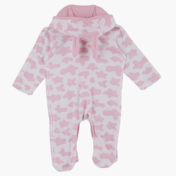 Juniors Printed Long Sleeves Slepsuit