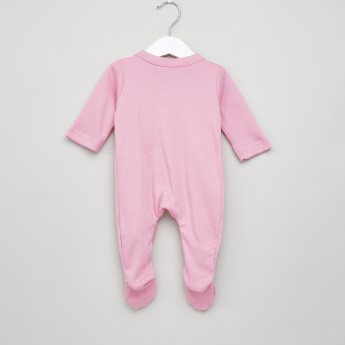 Juniors Long Sleeves Sleepsuit with Closed Feet - Set of 3