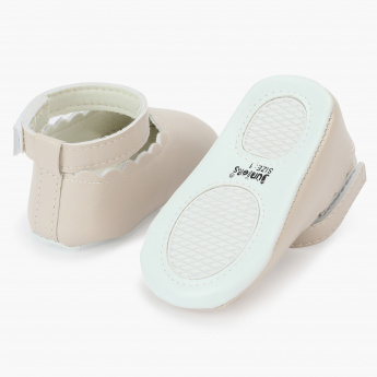 Juniors Baby Booties with Ankle Straps