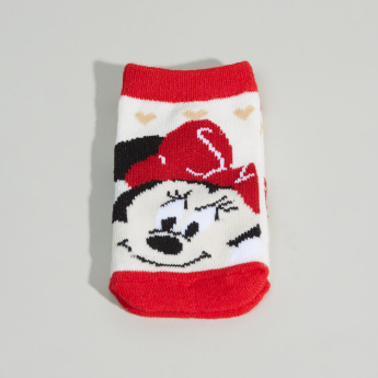 Minnie Mouse Printed Socks