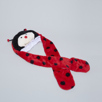 Charmz Plush 2-in-1 Cap and Scarf