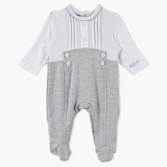 Giggles Round Neck Closed Feet Sleepsuit