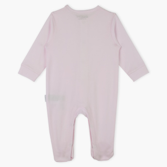 Giggles Closed Feet Sleepsuit with Net Insert