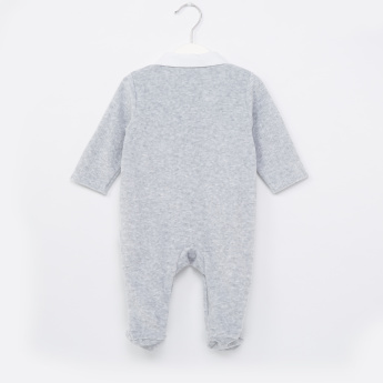 Giggles Collared Closed Feet Sleepsuit