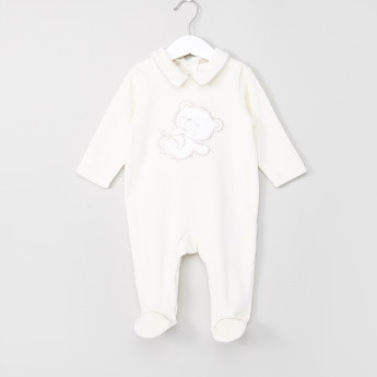 Giggles Printed Closed Feet Sleepsuit