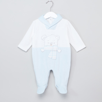 Juniors V-Neck Closed Feet Sleepsuit