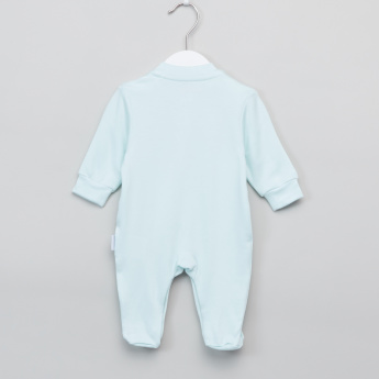 Giggles Embroidered Closed Feet Sleepsuit