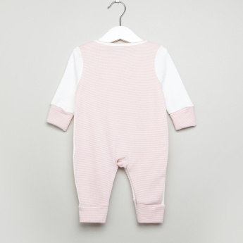 Juniors Embroidered Playing Bunny Sleepsuit