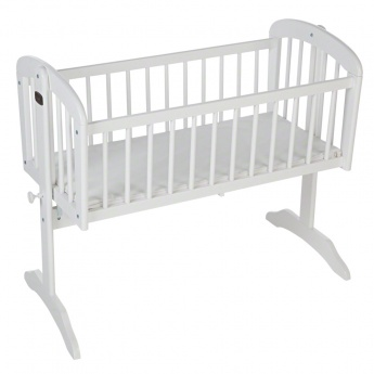 Juniors Wooden Cradle with Mattress