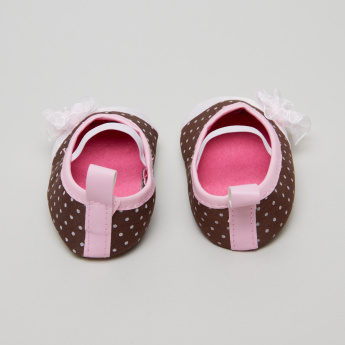 Juniors Printed Baby Shoes with Elasticised Band