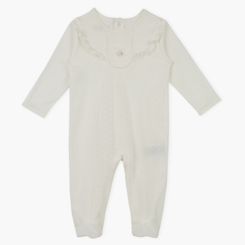 Giggles Closed Feet Sleepsuit with Button Closure