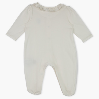 Giggles Frill Detail Sleepsuit