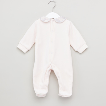 Giggles Peter Pan Collar Closed Feet Sleepsuit
