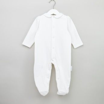 Giggles Closed Feet Cotton Sleepsuit with Applique