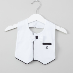 Giggles James Blazer Bib