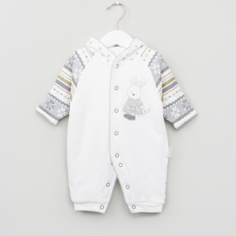 Printed Long Sleeves Sleepsuit