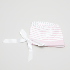 Juniors Striped Bonnet