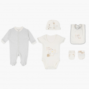 Juniors Printed 5-Piece Apparel Set