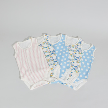 Juniors Sleeveless Bodysuit - Set of 5