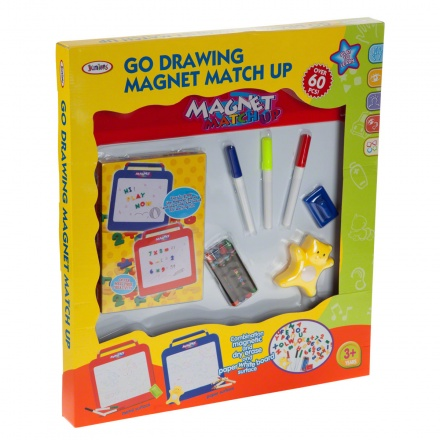 Juniors Go Drawing Magnet Match Up