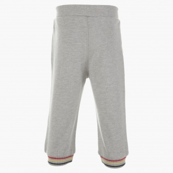 Kanz Textured Jog Pants