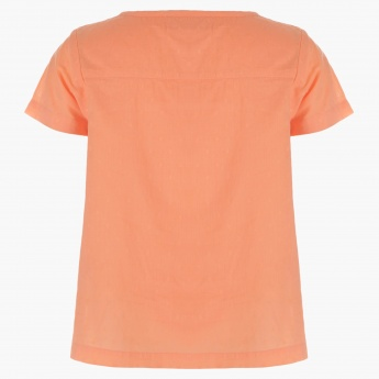 Juniors Solid Colour Top
