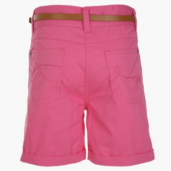 Juniors Solid Colour Shorts