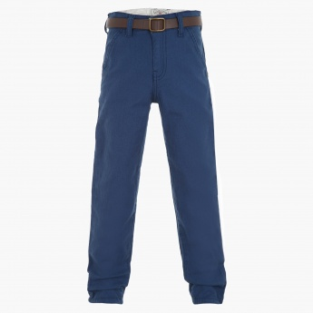 Lee Cooper Solid Colour Pants