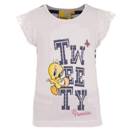 Tweety Printed T-shirt and Shorts Set