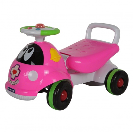 Juniors Baby Ride Scooter Pink Interactive Toys To Develop
