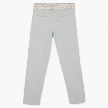 Eligo Textured Full Length Pants