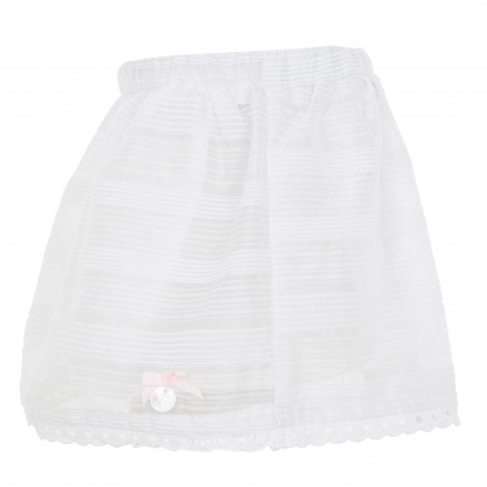 Giggles Striped A-line Skirt
