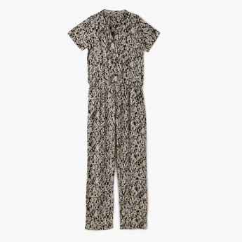 Posh Printed Jumpsuit