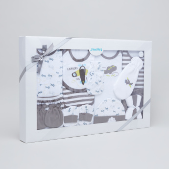Juniors Printed 16-Piece Gift Set