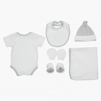Juniors Embroidered 6-Piece Gift Set