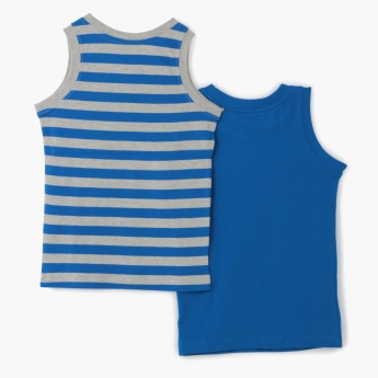Juniors Sleeveless T-shirt - Set of 2