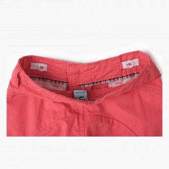 Juniors Cargo Bermuda Shorts