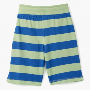 Juniors Striped Shorts