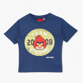 Angry Birds Printed T-Shirt