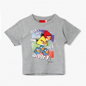 Angry Birds Graphic Print T-Shirt
