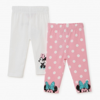 Bambi Printed Leggings - Set of 2