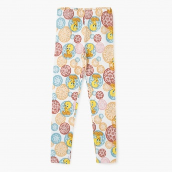 Tweety Printed Leggings