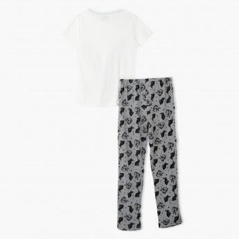 Juniors Printed Pyjama Set