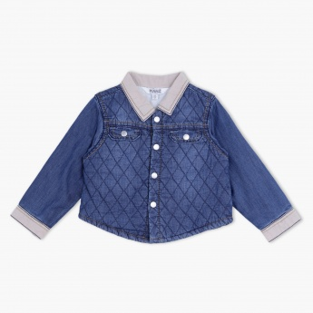 Kanz Long Sleeves Cotton Denim Shirt