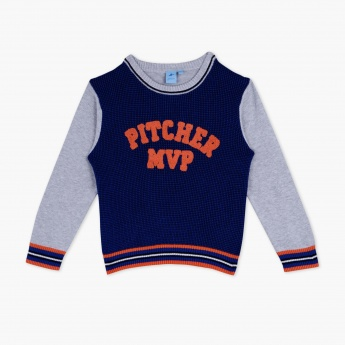 Juniors Long Sleeves Pullover