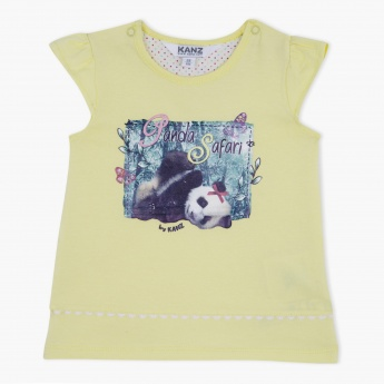 Kanz Graphic Print T-Shirt