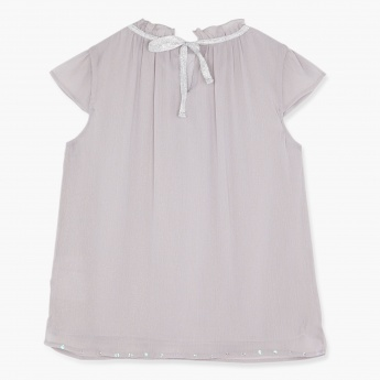 Posh Short Sleeves Top