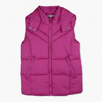 Posh Sleeveless Puffer Jacket