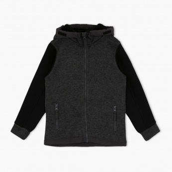 Juniors Hooded Pullover
